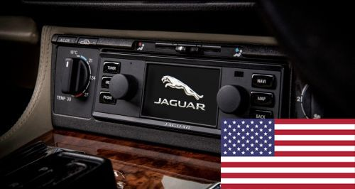 BD11021 - North American Jaguar Classic Infotainment System in black