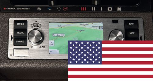 LR117489 - North American Land Rover Classic Infotainment System in Silver
