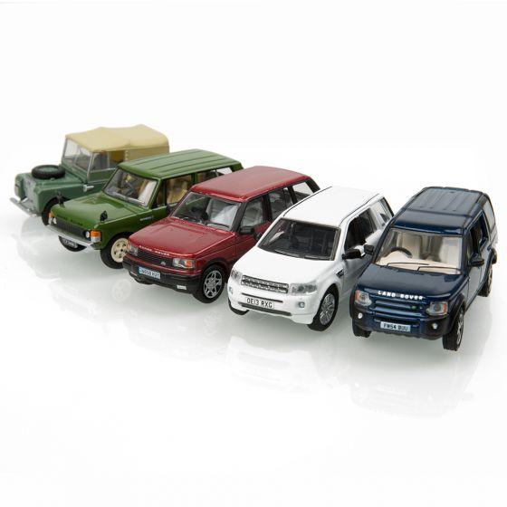 LDDC018MXZ - LR Land Rover Classic 5 Piece Set 1:76 Scale Model