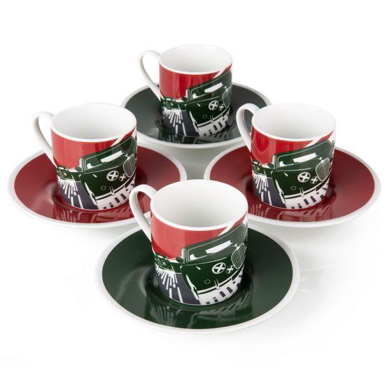 JGGF441MXA - JAG Heritage Dynamic Graphic Espresso Set - 4 Set