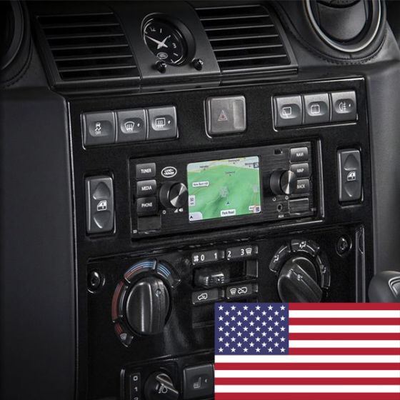 LR117490 - North American Land Rover Classic Infotainment System in Black