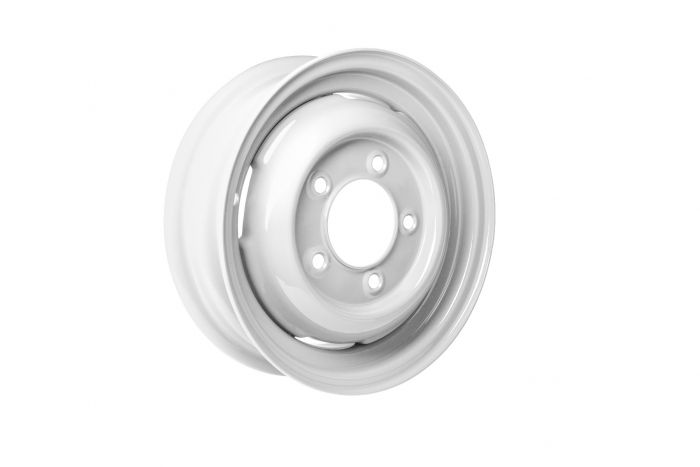 """217629 - Land Rover Series 1 Wheel - 4.5"""" x 16'' - Primed finish"""