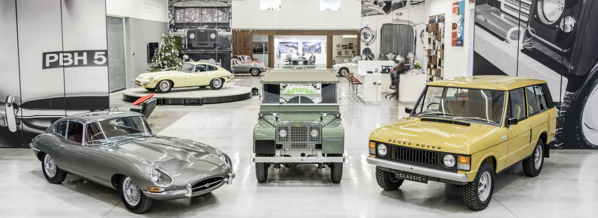 Merry Christmas From Jaguar Land Rover Classic