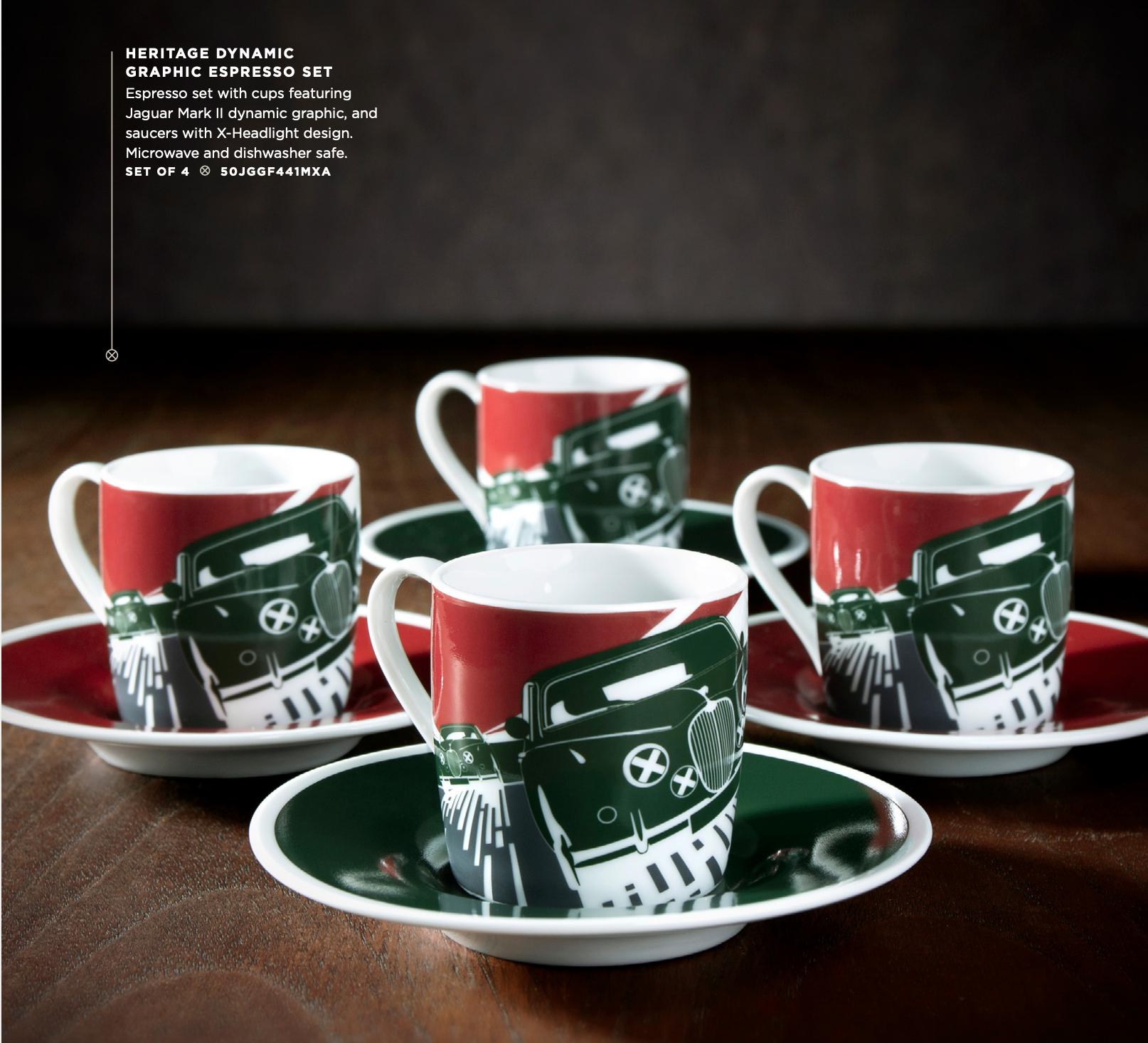 Jaguar Mug Set
