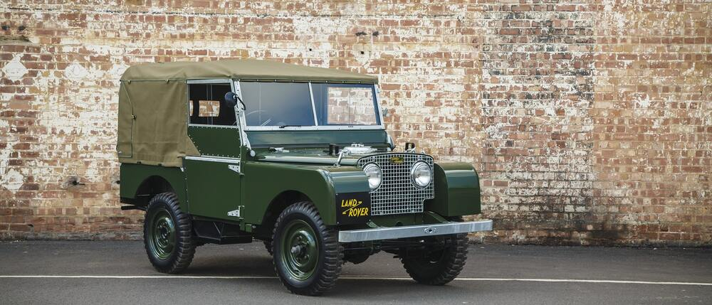 Limited Edition Land Rover Series 1 Wheels