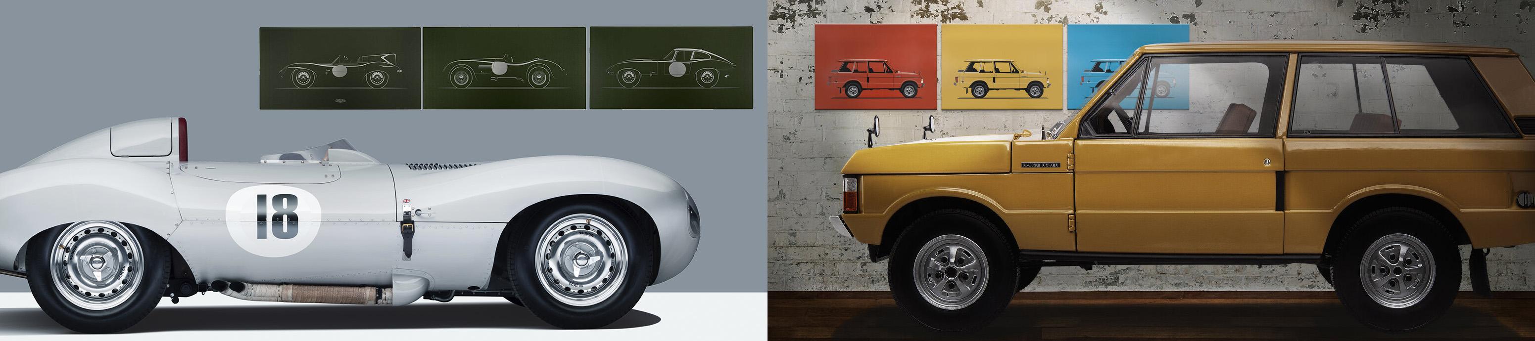Jaguar Land Rover Artwork & Prints