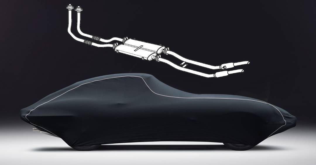 >E-Type Classic Custom Car Covers & Stainless Steel Exhaust Bundle